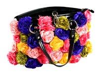sztuczni torby kobiety kwiaty Zdjęcie Royalty Free