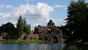 Sztuczny budynek w Wörlitzer parku w Niemcy Zdjęcie Royalty Free