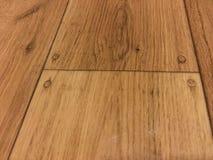 Sztuczny drewno na podłoga Zdjęcie Royalty Free