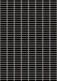 Sztuczny dziurkowaty metalu talerz fotografia stock