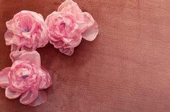 Sztuczny flowesr handmade Zdjęcia Royalty Free