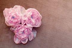 Sztuczny flowesr handmade Obrazy Royalty Free