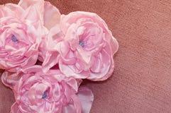 Sztuczny flowesr handmade Fotografia Royalty Free