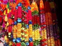 Sztuczny kwiat dla Tihar festiwalu obrazy royalty free
