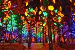 Sztuczny las Obrazy Royalty Free
