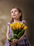 sztuczny piękny jaskrawy kolorowy kreatywnie rzęs eyeshadow piórka kwiatu dziewczyny długi makeup target390_0_ wianku potomstwa Zdjęcia Stock