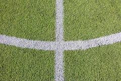 Sztuczny trawy boisko piłkarskie fotografia royalty free