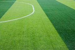 Sztuczny trawy boisko piłkarskie w Chiang Mai, Tajlandia fotografia stock