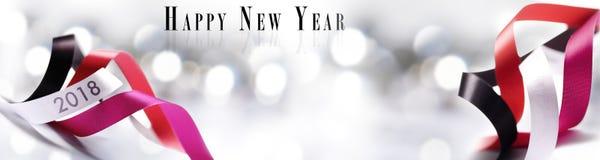 Sztuk boże narodzenia, nowy rok 2018 dekoracja Zdjęcia Stock
