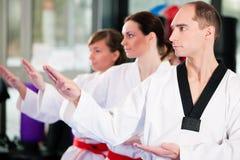 sztuk gym wojenny sporta szkolenie Zdjęcia Royalty Free