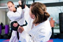 sztuk gym wojenny sporta szkolenie Obrazy Royalty Free