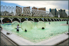 sztuk miasta nauki Spain Valencia Fotografia Stock