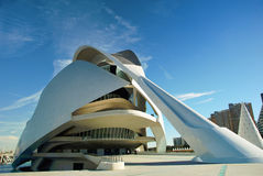sztuk miasta nauki Valencia Fotografia Royalty Free