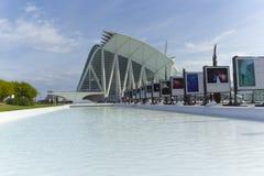 sztuk miasta nauki Valencia obrazy stock
