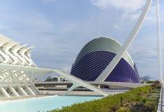 sztuk miasta nauki Valencia obraz stock