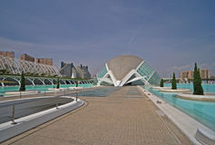 sztuk miasta nauki Valencia Zdjęcie Royalty Free