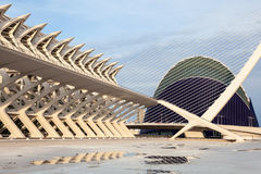 sztuk miasta nauki Valencia Zdjęcia Stock