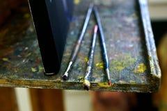 Sztuk muśnięcia na stojaku fotografia royalty free