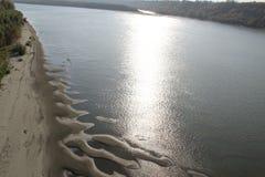 Sztuka światło na wodzie Zdjęcie Royalty Free