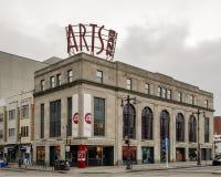 Sztuka banka Theatre, uniwersytet sztuki, Szeroka ulica, Filadelfia Obrazy Stock