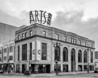 Sztuka banka Theatre, uniwersytet sztuki, Szeroka ulica, Filadelfia Obrazy Royalty Free