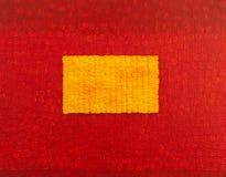 Sztuka czerwony obraz. ilustracji