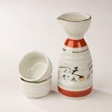 sztuka dla sztuki ceramiczny set Obraz Royalty Free