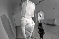 Sztuka eksponat 004 Obrazy Stock