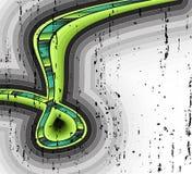 sztuka faborek zielony Zdjęcie Stock