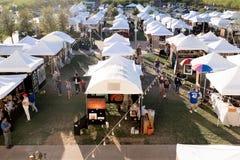 Sztuka festiwal w W centrum Summerlin, Las Vegas, NV zdjęcie royalty free