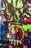 sztuka graffiti street Obraz Royalty Free