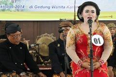 Sztuka Karawitan Indonezja Zdjęcia Stock