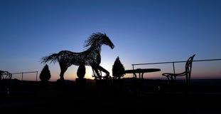 Sztuka koń Obrazy Royalty Free
