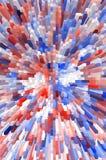 Sztuka koloru bloku abstrakta wzoru tło Fotografia Royalty Free