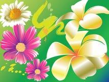 Sztuka kwiat Obrazy Royalty Free