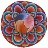 Sztuka kwiat Zdjęcie Royalty Free