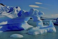 Sztuka lodowy rytownictwo Obraz Royalty Free
