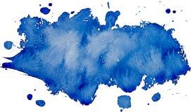Sztuka logo muśnięcie malująca akwarela ilustracji
