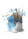Sztuka materiały Zdjęcie Royalty Free