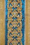 Sztuka na ścianie w wata tha śpiewał świątynię Tajlandia obraz stock