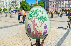 Sztuka na jajkach Obraz Royalty Free