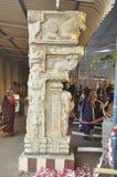 Sztuka na napełniaczu w świątyni zdjęcie royalty free