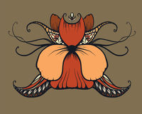 Sztuka Nouveau, art deco, typografia Zdjęcie Royalty Free