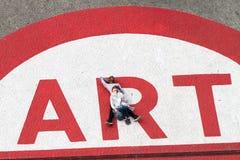 sztuka nowożytny Paris Obrazy Royalty Free