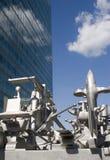 sztuka nowoczesnego Vienna architektury Zdjęcia Stock