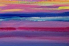 Sztuka obrazu abstrakcjonistyczne tekstury oliwią akrylowe farby tapetowe obrazy stock