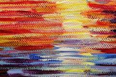 Sztuka obrazu abstrakcjonistyczne tekstury oliwią akrylowe farby tapetowe fotografia stock