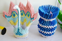 Sztuka origami Zdjęcia Stock