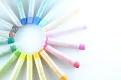 Sztuka pastelu paleta Obraz Stock