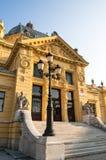 Sztuka pawilon, Zagreb, Chorwacja zdjęcie stock